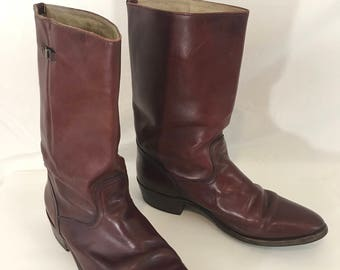 Vintage Frye Cowboy Boots Western Mens Size 13