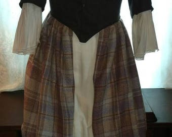 18th Century Scottish Style Day Dress
