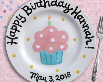 Popular items for birthday plate & Birthday plate | Etsy