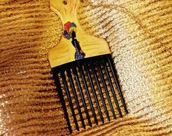 Empress Golden Afro Pick