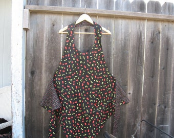 Reversible cherry apron