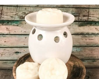 Lavender Soy Wax Melts / 3-pack / Soy Wax Tarts / Scented Soy Wax / Lotus Flower / Lotus Soy Candle Co