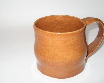 Hand Thrown Pottery Coffee Mug