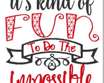 Do the Impossible Saying