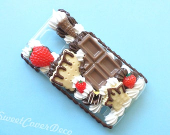 Galaxy S5 - Chocolate and Strawberries phone case