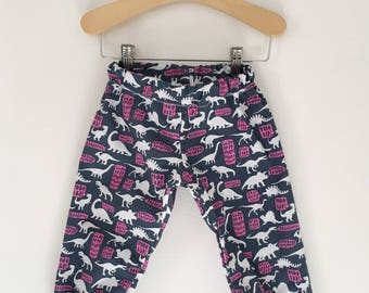 Dino Growl Baby, Toddler, and Child Harem Pants