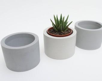 Cylinder Cement Planter