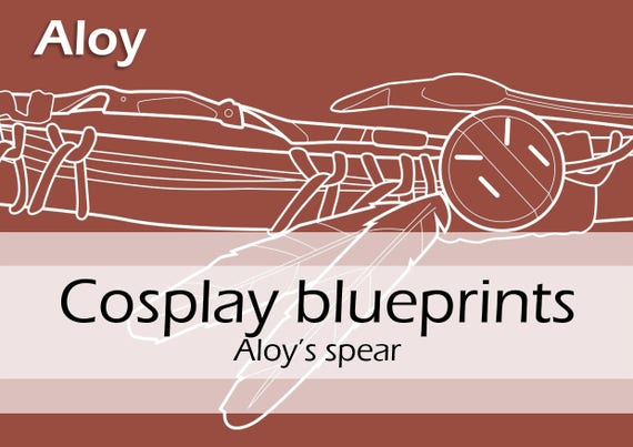 Digital cosplay costume blueprintpattern aloy s spear from digital cosplay costume blueprintpattern aloy s spear from horizon zero dawn for worbla prop making by pretzl cosplay pdf from pretzlcosplay on etsy malvernweather Gallery