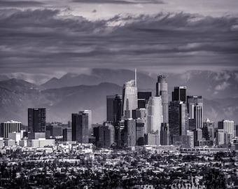 Downtown Los Angeles After the Storm