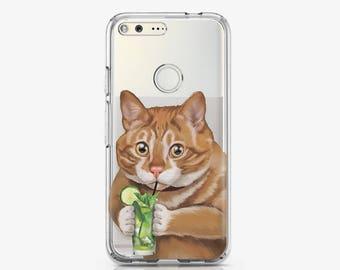 Cat Google Pixel Case Samsung Note 8 Case Red Pixel XL Case Animal Pixel XL Case Google Pixel Cover Lovely Phone Case Cute Cat Case AC1506