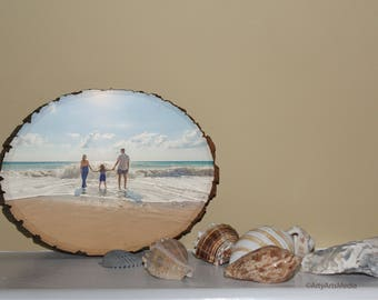 picture on wood, wood print, couple gift, gift for her, your photo on wood