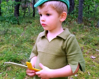 Peter Pan costume/Toddler Costume/ Kids Costume/Adult Costume/Peter Pan dress up/ handmade costume