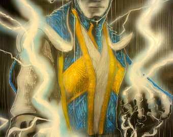Raiden the Thunder God