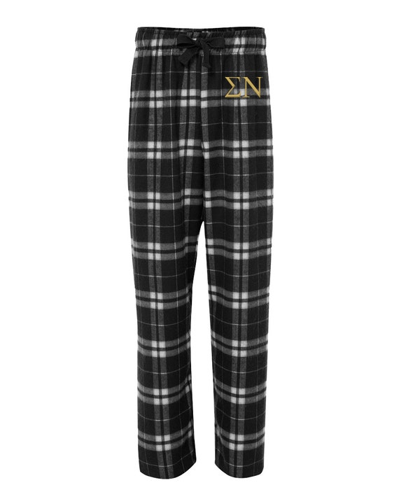 Sigma Alpha Flannel Pants, Sigma Alpha Loungewear, Sigma Alpha Pajamas, Sigma Alpha Sorority Pj Pants, Greek Flannel Pants