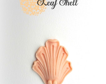 Small Leaf Shell Silicone Mold | candy mold | Soap mold