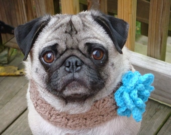 Bloomin' Beauty  Neck Warmer for Dogs - Made To Order