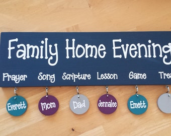 Family Home Evening Board!