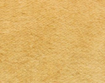 "10% OFF:  German Mohair Fabric Gold Straight 10.5mm Pile Size 18x28"" 50001064"