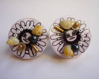 A little crazy jewelry - earrings