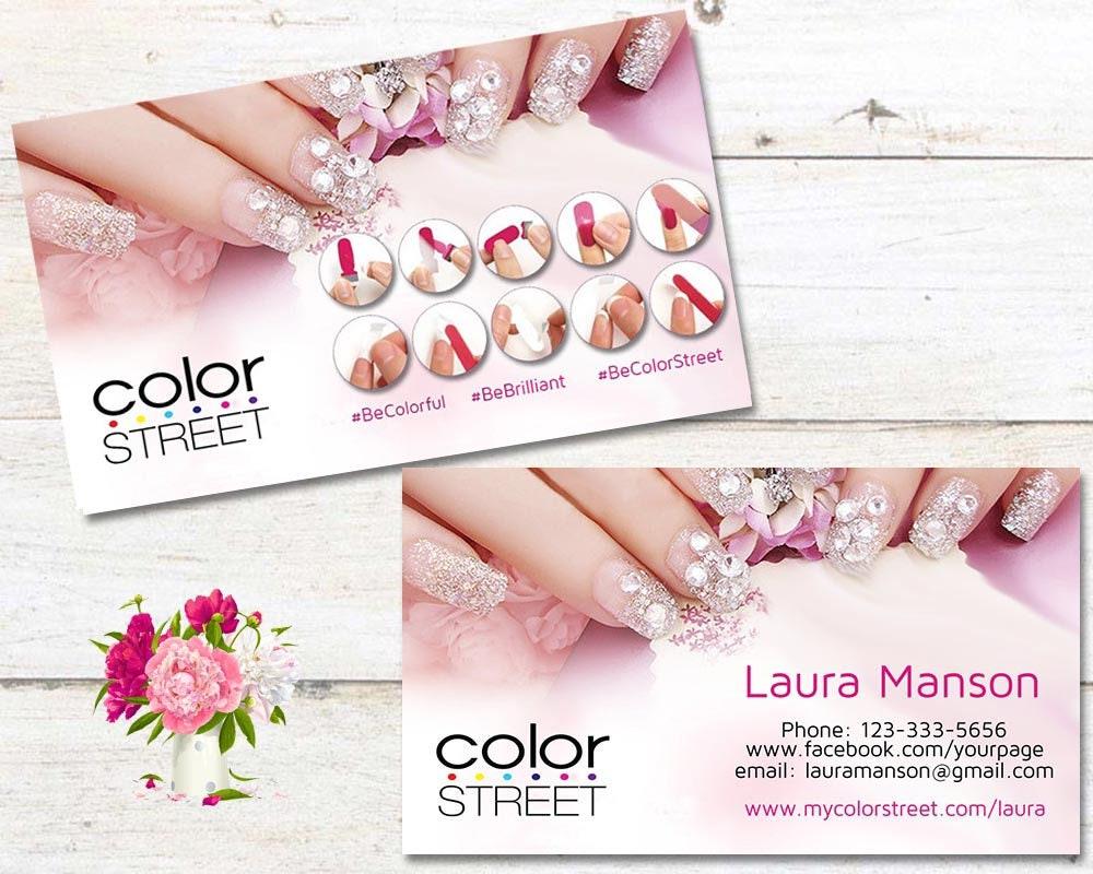 Color Street Business Cards Color Street Application Color