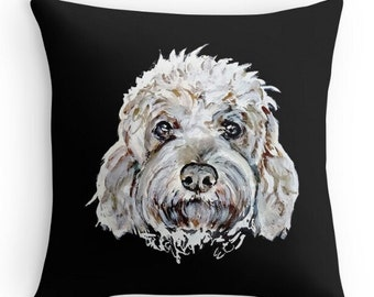 Pet Portrait Pillow Dog Pillow Personalized Pillow Custom pet Pillow Cat Pillow Pet Memorial Pet Loss Gift Dog Lovers Gift Pet Sympathy Gift
