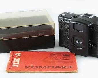 LOMO COMPACT-A Russian Soviet 35mm Film Camera LC-A minitar lomography
