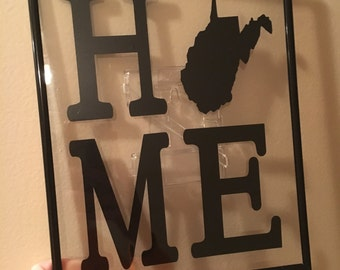 Home (with your state as the O