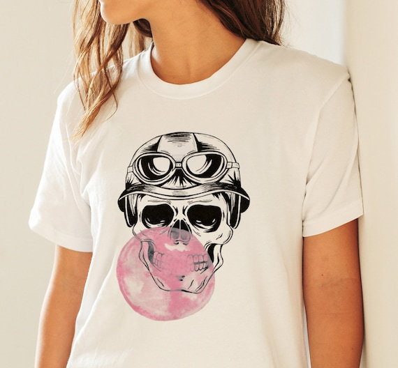 Aviator Skull | Unisex T-shirt | Apparel | Women / Men Clothing | Personalized T-shirt | Halloween Party shirt | Graphic Tee | ZuskaArt