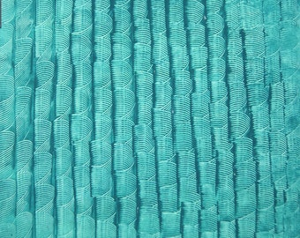 """paste paper for album srapbooking or handmade boxes, 19,5x27,3"""",""""vertical bows on turquoise"""""""