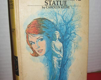 Nancy Drew #14: The Whispering Statue by Carolyn Keene 1970 HC Printing