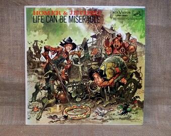 Homer & Jethro - Life Can Be Miserable - 1958 Vintage Vinyl Record Album