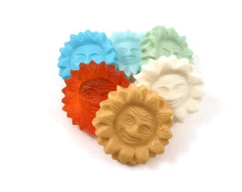 Sun Soaps   6 Surprise Color/Scent Sun Soaps   Glycerin Soap   Colors and Scents of my choice   Sample Soap   Teacher Gift   Sunshine Soap