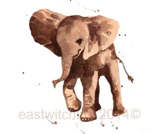 Cute ELEPHANT Print