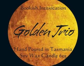 Golden Trio -Harry Potter Inspired