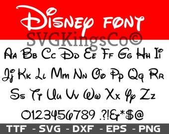 Disney font svg, Walt Disney font svg, Disney svg, Disney alphabet svg, calligraphy font svg, cursive font svg, dxf files, svg files, svg
