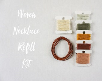 Woven Necklace Refill Kits