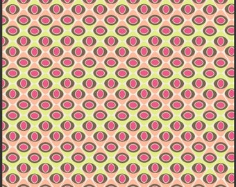 SALE - OOP Naturella Peach Seeds Art Gallery Fabrics Pat Bravo - Available in Yards, Half Yards and Fat Quarters