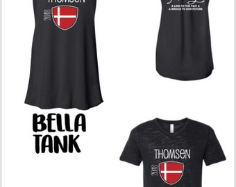 Thomsen family reunion Ts and tanks