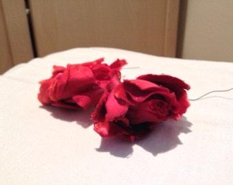 Vintage millinery roses
