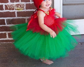 CHRISTMAS Elf - Elf Costume - Tutu with Elf Hat - Shelf Elf - Baby Christmas Outfit - Christmas Elf - Elf Dress  sc 1 st  Etsy & Elf costume | Etsy