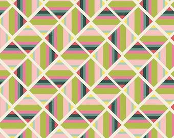 Joie de Vivre,  Angle Folie Pristine - Bari J - Art Gallery Fabric 100% Quilters Cotton JOI-79126