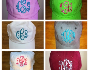 Monogram/Personlized Cap