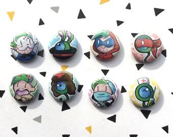 button set jacksepticeye (power version)