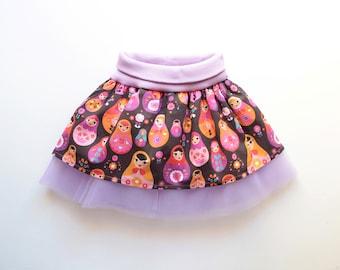 WOODLAND Girl Baby Girl Skirt pattern Pdf sewing pattern, Tulle Skirt, baby girl toddler 6m 9m 12m 18m 1 2 3 4 5 6 7 8 9 10 years