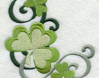 Embroidered St. Patrick's Day Hand Towels Show Your Irish Pride in the Kitchen or Bath