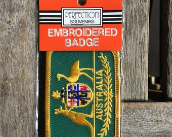 Australia Vintage Travel Souvenir Patch By Perfection Souvenirs from New South Wales