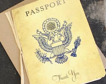 Passport Thank You Card - Design Fee