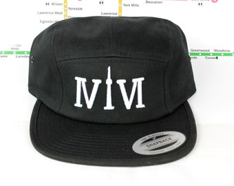 Sale! Original 5 panel Flyness! Custom, 5 panel, CN Tower, The Six, 6ix, Area Code, 416 Hats, 647, Roman Numerals