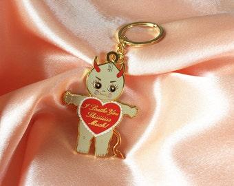 Devilish Kewpie Doll Keychain