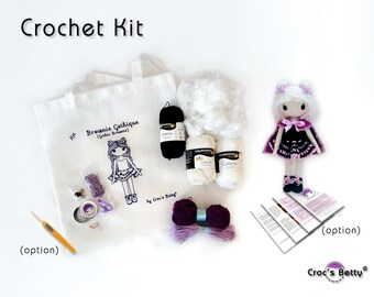 Crochet Kit - Gothic Brownie